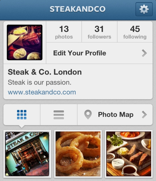 Steak & Co instagram